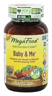 MegaFood - Baby & Me California Blend - 120 Tablets