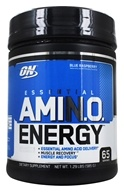 Optimum Nutrition - Essential AmiN.O. Energy Blue Raspberry 65 Servings - 1.29 lbs.