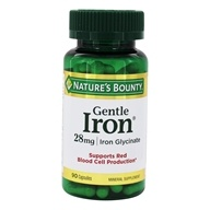 Nature's Bounty - Gentle Iron 28 mg. - 90 Capsules