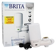 Brita - On Tap Advanced Faucet Filtration System White - 1 Filter(s)