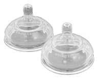 Comotomo - Silicone Replacement Nipples Fast Flow 6m+ - 2 Pack