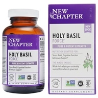 New Chapter - Holy Basil Force - 120 Vegetarian Capsules