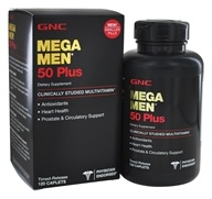 GNC - Mega Men 50 Plus Multi - 120 Caplets