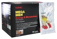 GNC - Mega Men Energy & Metabolism - 30 Pack(s)