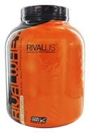 Rivalus - RivalWhey 100% Whey Isolate Primary Source Soft-Serve Vanilla - 5.25 lbs.