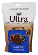 Nutro - Ultra All Natural Dog Biscuits Antioxidant Blend with Blueberry & Pomegranate - 16 oz.