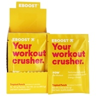 Eboost - Pow Pre-Workout Superenhancer Tropical Punch - 15 Packet(s)