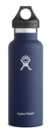 Hydro Flask - Stainless Steel Water Bottle Vacuum Insulated Standard Mouth Cobalt - 18 oz.