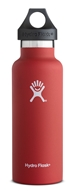 Hydro Flask - Stainless Steel Water Bottle Vacuum Insulated Standard Mouth Lava - 18 oz.