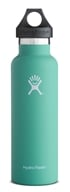 Hydro Flask - Stainless Steel Water Bottle Vacuum Insulated Standard Mouth Mint - 21 oz.