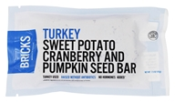 Bricks Meals & Snacks - Turkey Protein Bar Sweet Potato Cranberry and Pumpkin Seed - 1.5 oz.
