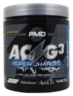 NDS Nutrition - PMD Platinum ACG3 Supercharged+ Blue Razz - 13.2 oz.