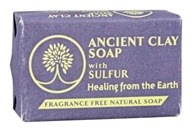 Zion Health - Ancient Clay Soap with Sulfur - 6 oz.