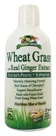 Garden Greens - Wheat Grass with Real Ginger Extract - 32 oz.