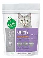 GNC Pets - Ultra Mega Calm For Cats Chicken Flavor - 21 Soft Chews