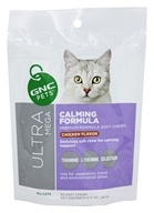 GNC Pets - Ultra Mega Calming Formula For Cats Chicken Flavor - 60 Soft Chews