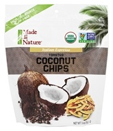 Made in Nature - Organic Toasted Coconut Chips Italian Espresso - 3 oz.