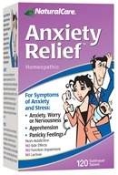 NaturalCare - Anxiety Relief - 120 Tablets