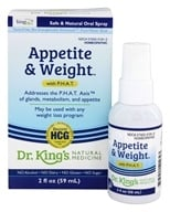 King Bio - Homeopathic Natural Medicine Appetite & Weight Control With P.H.A.T - 2 oz.