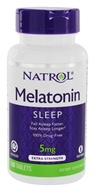 Natrol - Melatonin Time Release 5 mg. - 100 Tablets