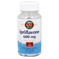 Kal - Ipriflavone Bone Support Formula With Calcium 600 mg. - 30 Tablets
