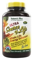 Nature's Plus - Ultra Source Of Life With Lutein No Iron - 180 Tablets