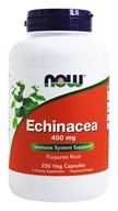 NOW Foods - Echinacea (Purpurea Root) 400 mg. - 250 Capsules