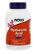 NOW Foods - Hyaluronic Acid with MSM 50 mg. - 120 Vegetarian Capsules
