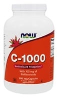 NOW Foods - C-1000 with 100mg Bioflavanoids & Rutin - 500 Capsules