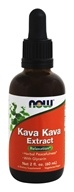 NOW Foods - Kava Kava Extract Stress Support - 2 oz.