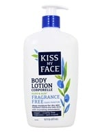 Kiss My Face - Olive & Aloe 2 in 1 Deep Moisturizing Lotion Fragrance Free - 16 oz.
