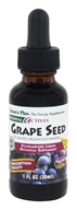 Nature's Plus - Herbal Actives Grape Seed Liquid Suspension 25 mg. - 1 oz.