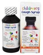 NatraBio - Cough Syrup Children's Cherry Berry - 4 oz.