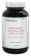 Metagenics - Multigenics Intensive Care without Iron - 180 Tablets