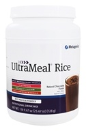 Metagenics - UltraMeal RICE Natural Chocolate - 28 oz.