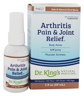 King Bio - Homeopathic Natural Medicine Arthritis & Joint Relief - 2 oz.