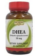 Only Natural - DHEA 99% Pure 50 mg. - 60 Capsules