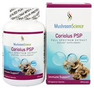 Mushroom Science - Coriolus-PSP 400 mg. - 90 Vegetarian Capsules