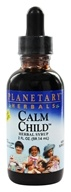 Planetary Herbals - Calm Child Herbal Syrup - 2 oz. Formerly Planetary Formulas