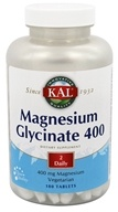 Kal - Magnesium Glycinate 400 - 180 Tablets