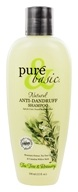 Pure & Basic - Natural Shampoo Anti-Dandruff Tea Tree and Rosemary - 12 oz.