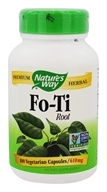 Nature's Way - Fo-Ti Root - 100 Capsules