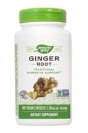 Nature's Way - Ginger Root 550 mg. - 180 Vegetarian Capsules