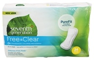 Seventh Generation - Chlorine Free Regular 24 Maxi Pads