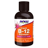 NOW Foods - B-12 Liquid B-Complex - 2 oz.