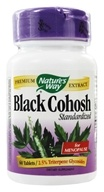 Nature's Way - Black Cohosh Standardized Extract - 60 Tablets