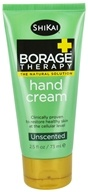 Shikai - Borage Dry Skin Therapy Hand Cream Adult Formula - 2.5 oz.
