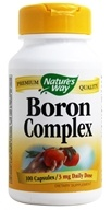Nature's Way - Boron Chelate- Certified Potency - 100 Capsules