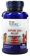 Pure Science International - Arthri Zen Relief formerly by RZN - 60 Vegetarian Capsules