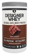 Designer - Designer Whey Natural 100% Whey-Based Protein Powder Gourmet Chocolate - 2 lbs.